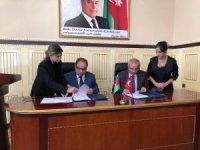 Rektör Battal Azerbaycan'da 5 üniversite ile işbirliği protokolü imzaladı