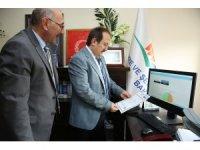 Vali Pehlivan Çevre ve Şehircilik İl Müdürlüğü'nü ziyaret etti