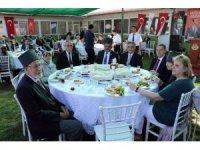 Edirne'de Gaziler kahvaltıda buluştu
