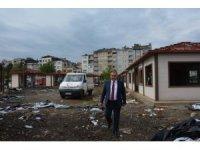 Görele'de 'Köy Pazarı' projesi hızla devam ediyor