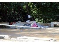Beşiktaş'ta madde bağımlısı olan erkek şahıs parkta ölü bulundu