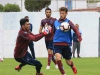 Trabzonspor, Göztepe maçının hazırlıklarını sürdürdü