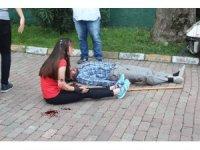 Bayrampaşa'da gerçeği aratmayan trafik kazası tatbikatı