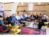 Başkan Kutlu AK Parti il yönetimi ile bir araya geldi