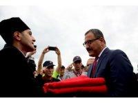 Atatürk'ün Giresun'a gelişinin 94. yıldönümü törenle kutlandı
