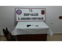 Sinop'ta uyuşturucu ve silah kaçakçılığı operasyonu