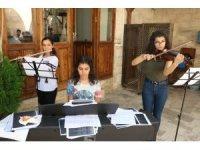 Büyükşehir Çocuk Korosu, konsere hazırlanıyor