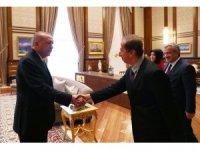 Cumhurbaşkanı Erdoğan, Prof. Dr. Yaser S.Abu-Mostafa'yı kabul etti