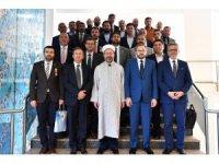 Diyanet İşleri Başkanı Erbaş 15 Temmuz gazilerini kabul etti