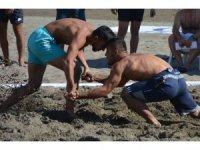 Türkiye Plaj Güreş Şampiyonası Ortaca'da başladı