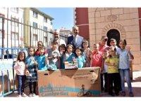 Başkan Altay, çocukların bisiklet mutluluğuna ortak oldu