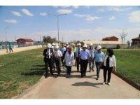 Japon İşbirliği Aajansı'nın yetkilileri Kilis'te atık su arıtma tesisini ziyaret etti