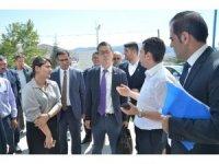 Japonya'dan Ekinözü'ne hasta nakil aracı hibesi