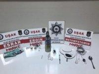 Uşak'ta narkotik operasyonu: 13 gözaltı