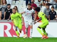 UEFA Avrupa Ligi: Beşiktaş: 0 - Sarpsborg: 0 (İlk yarı)