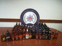 Aksaray'da sahte bandrollü kaçak içki operasyonu