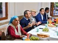 Tunceli'de Muharrem iftarı