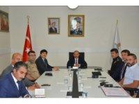 """Bitlis'te """"Üniversitelerde güvenlik tedbirleri"""" toplantısı gerçekleştirildi"""