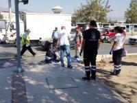 Mendil satıcısı, beton mikserinin altında kalarak hayatını kaybetti