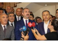 Adalet Bakanı Gül, Gaziantep'te sanayici ve iş adamları bir araya geldi