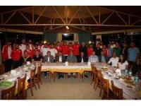 Başkan Akın, Bartınsporlu futbolcularla buluştu