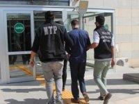 Elazığ'da bir şüpheli 1,5 kilo uyuşturucu ile yakalandı