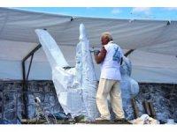 """4. Bisanthe Uluslararası Taş Heykel Sempozyumu; """"Bir Baküs Rahibinin Başkalaşımı"""""""