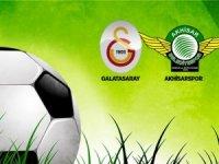 Galatasaray ile Akhisarspor 13. maça çıkıyor