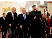 Çavuşoğlu, Maduro ile görüştü