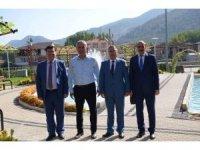 PTT Başmüdürlüğü'nden Bayırköy Belediyesi'ne ziyaret