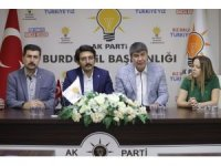 Başkan Türel'den Burdur AK Parti İl Başkanlığı'nı ziyaret