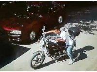Motosikleti çaldı, 'bir anlık hevesti' dedi