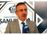 Nevşehir Belediye Başkanı Seçen, Şanlıurfa'da TKB toplantısına katıldı