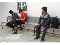 Ayvalık'ta 7 mülteci ile bir organizatör yakalandı