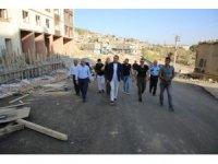 Şırnak Belediyesi yeni hizmet binası hızla yükseliyor