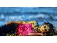 Gazzeli genç kadın, zor şartlar altında sanatını sürdürüyor