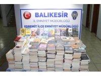 773 adet korsan kitap ele geçirildi