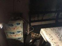 Prizde unutulan su ısıtıcısı evi kül ediyordu