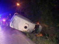 Sakarya'da trafik kazası: 1'i çocuk 4 yaralı