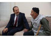 Vali Ali Hamza Pehlivan Şehit Recep Eşiyok'un ailesi ve Gazi Selami Köksal'ı ziyaret etti