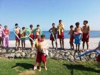 SODES projesi ile hem yüzmeyi öğrendiler hem eğlendiler