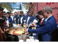 Cumhurbaşkanlığının aşure ikramına Tokat'ta yoğun ilgi
