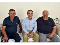 Ataç'tan Tutucu'ya geçmiş olsun ziyareti