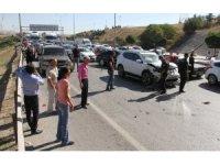 Ankara'da zincirleme trafik kazası: 17 araç birbirine girdi