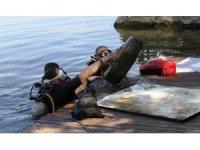 Eymir Gölü'nde çevre temizliği