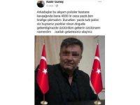 Sosyal medyadan polise hakaret ettiği iddia edilen muhtar gözaltına alındı