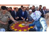 Şanlıurfa'da Cumhurbaşkanlığı aşure ikramına yoğun ilgi