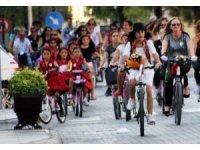 Bisiklet turunu, boğularak öldürülen Fulya'ya adadılar