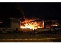 Aydın OSB'deki yangın kontrol altına alınamıyor