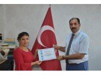 Zübeyde Hanım Anaokulu öğretmenleri ödüllendirildi
